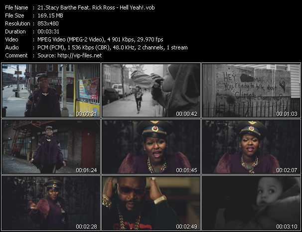 Stacy Barthe Feat. Rick Ross video screenshot