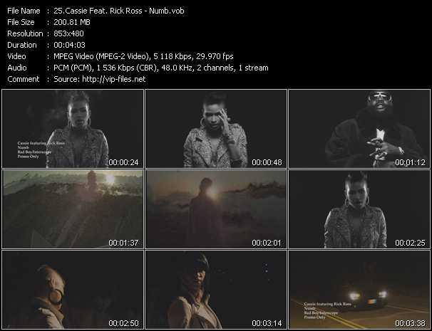 Cassie Feat. Rick Ross video screenshot