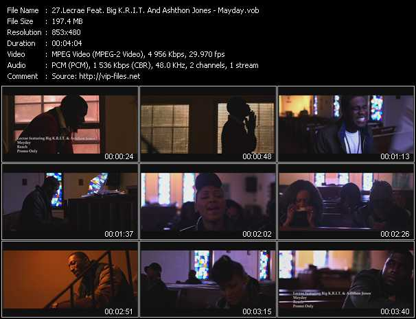 Lecrae Feat. Big K.R.I.T. And Ashthon Jones video screenshot