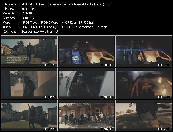 Kidd Kidd Feat. Juvenile video screenshot