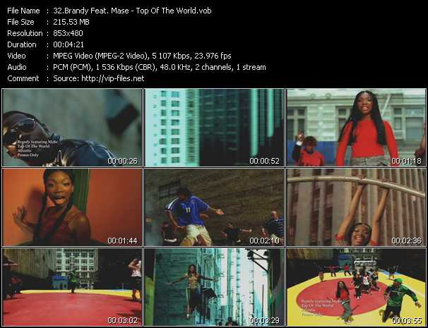 Brandy Feat. Mase video screenshot