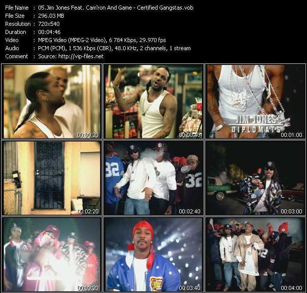 Jim Jones Feat. Cam'ron And Game video screenshot