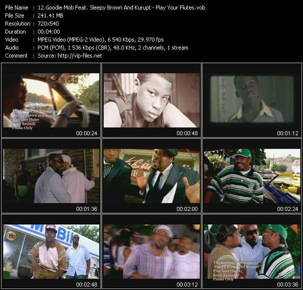 Goodie Mob Feat. Sleepy Brown And Kurupt video screenshot