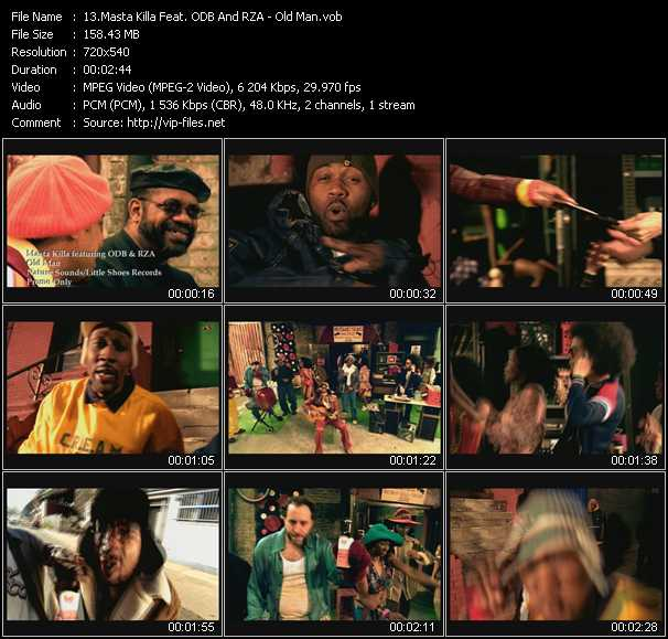 Masta Killa Feat. ODB And RZA video screenshot