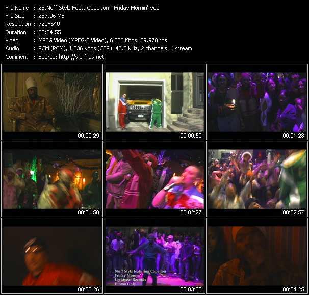 Nuff Stylz Feat. Capelton video screenshot