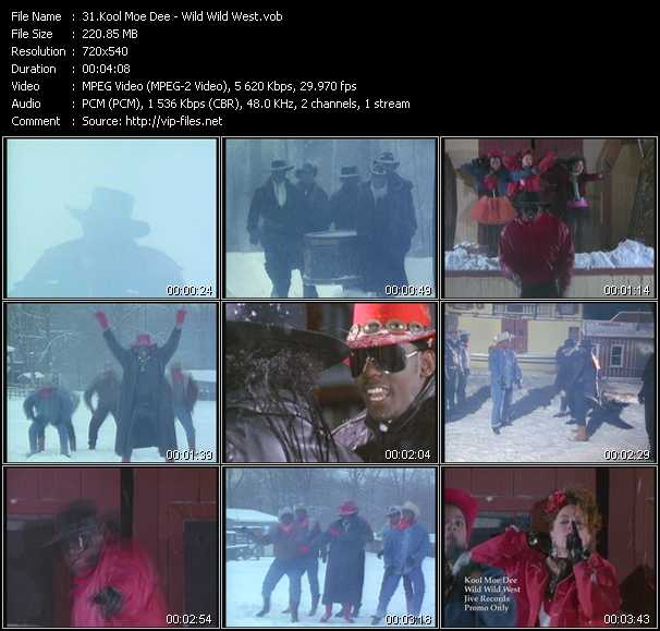 Kool Moe Dee video screenshot
