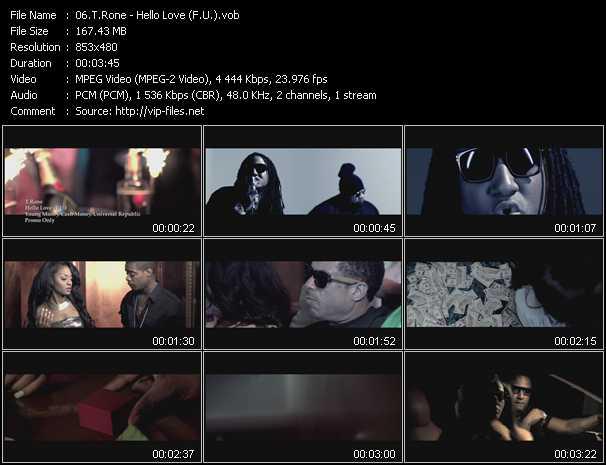 T.Rone video screenshot