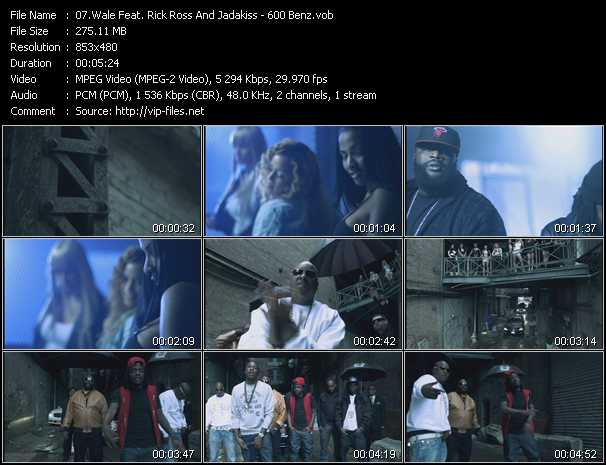 Wale Feat. Rick Ross And Jadakiss video screenshot