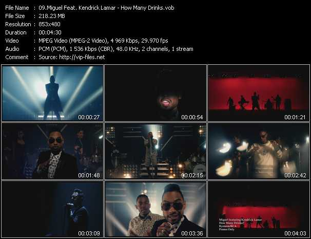 Miguel Feat. Kendrick Lamar video screenshot