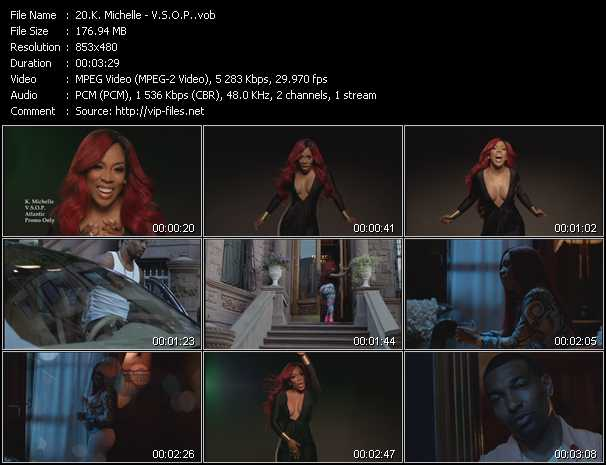 K. Michelle video screenshot