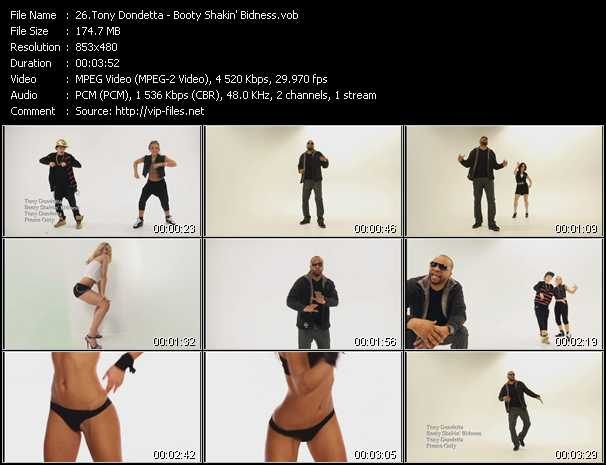Tony Dondetta video screenshot