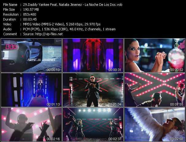 Daddy Yankee Feat. Natalia Jimenez video screenshot