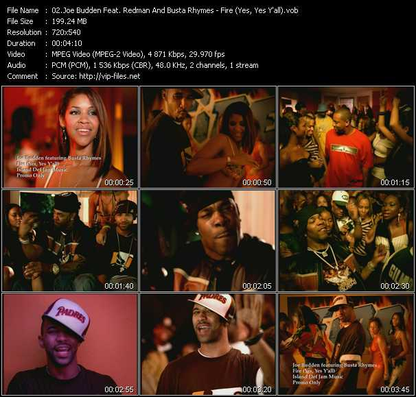 Joe Budden Feat. Redman And Busta Rhymes video screenshot
