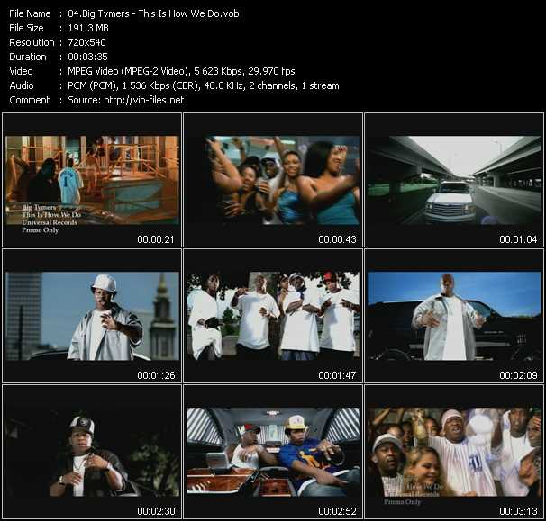 Big Tymers video screenshot