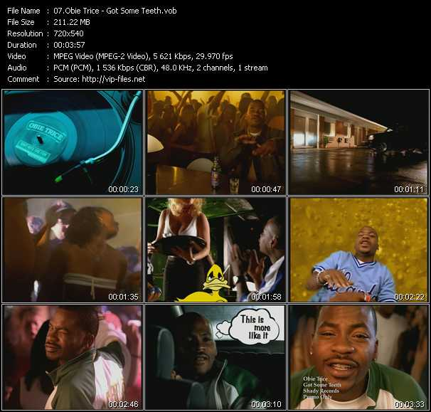 Obie Trice video screenshot