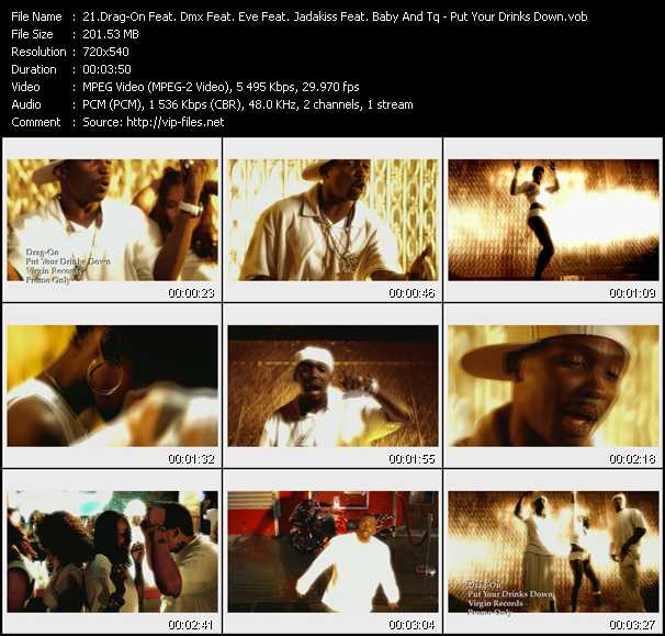 Drag-On Feat. Dmx Feat. Eve Feat. Jadakiss Feat. Baby And Tq video screenshot