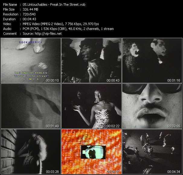 Untouchables video screenshot