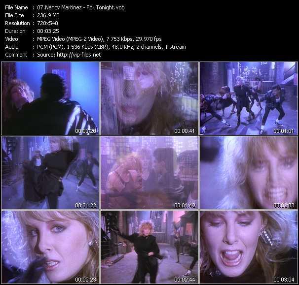 Nancy Martinez video screenshot