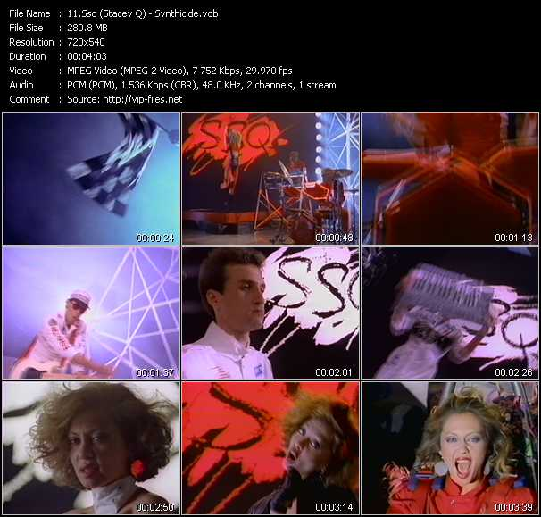 Ssq (Stacey Q) video screenshot