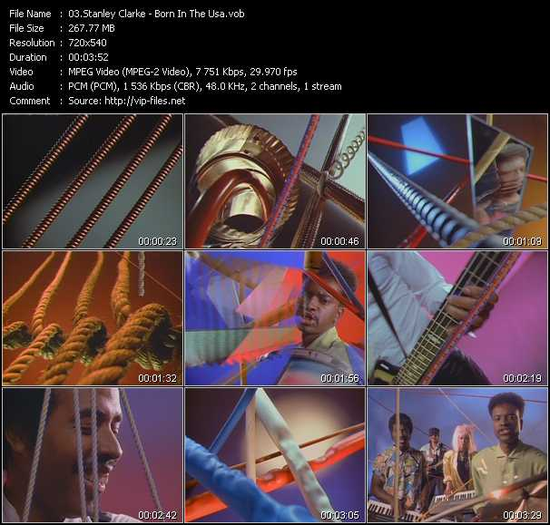 Stanley Clarke video screenshot