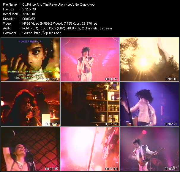 Prince And The Revolution video screenshot