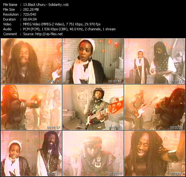 Black Uhuru video screenshot