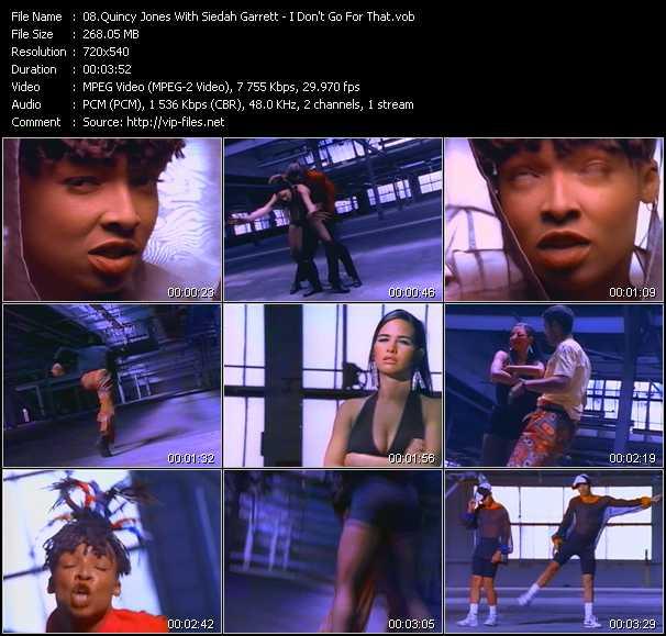 Quincy Jones With Siedah Garrett video screenshot