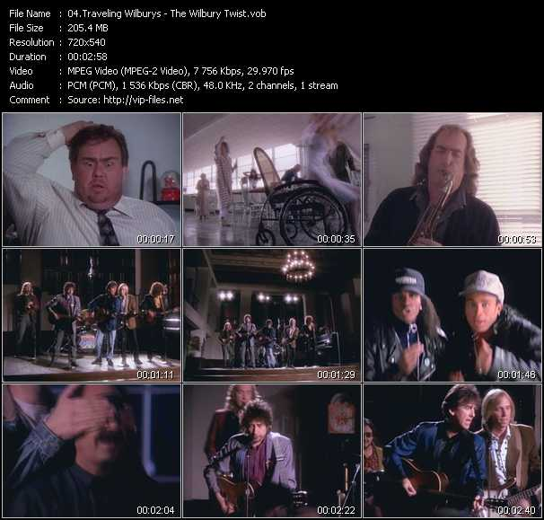 Traveling Wilburys video screenshot