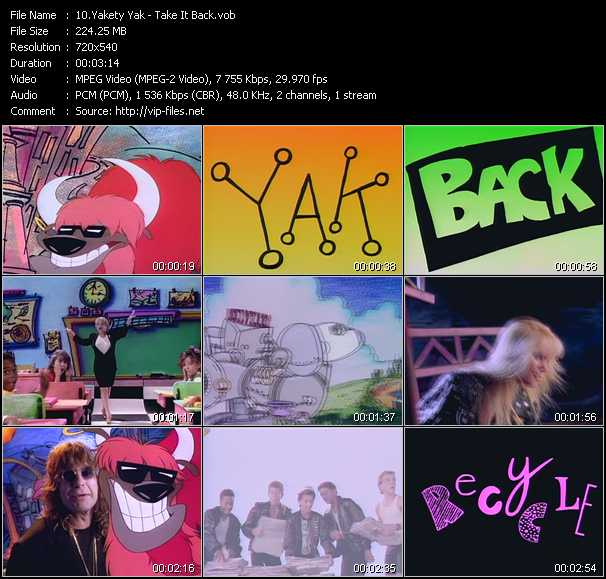 Yakety Yak video screenshot