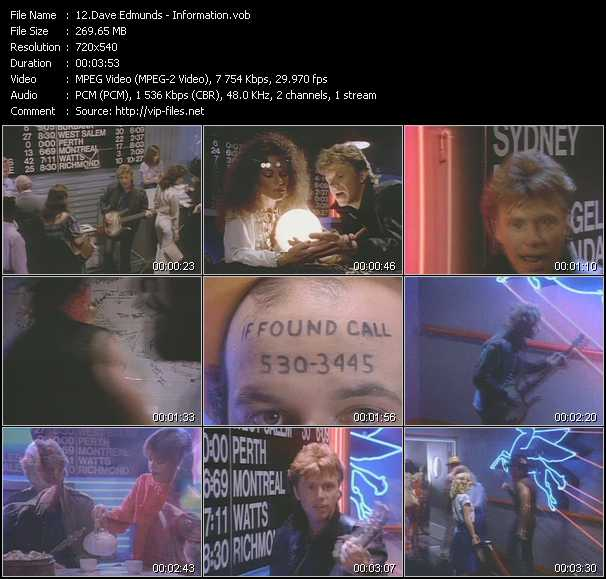 Dave Edmunds video screenshot