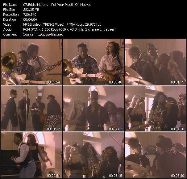 Eddie Murphy video screenshot