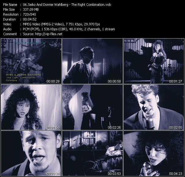 Seiko And Donnie Wahlberg video screenshot