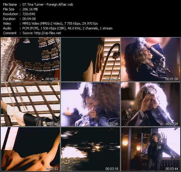 video Foreign Affair screen