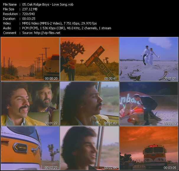 video Love Song screen