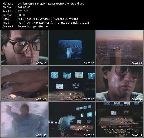 Alan Parsons Project video screenshot