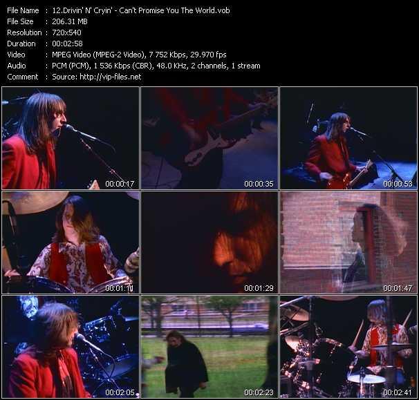 Drivin' N' Cryin' video screenshot