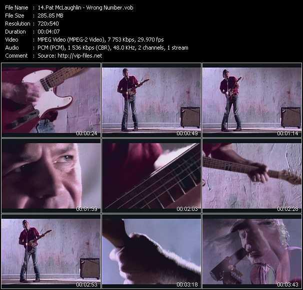 Pat McLaughlin video screenshot