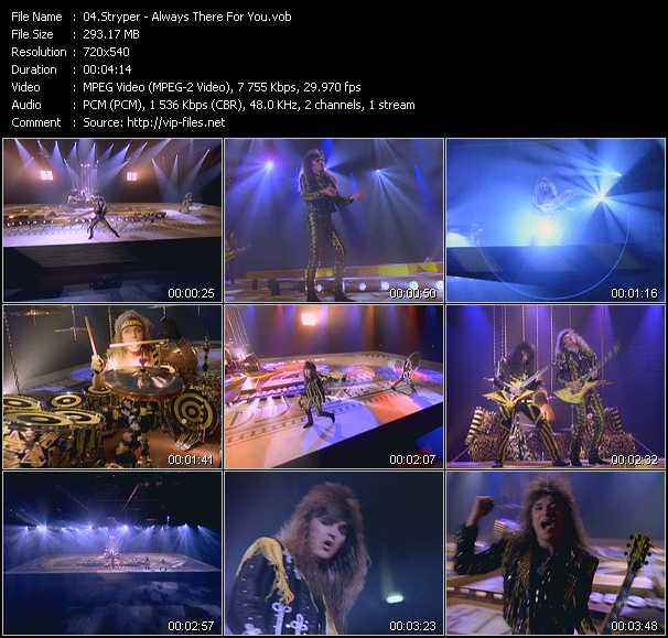 Stryper video screenshot