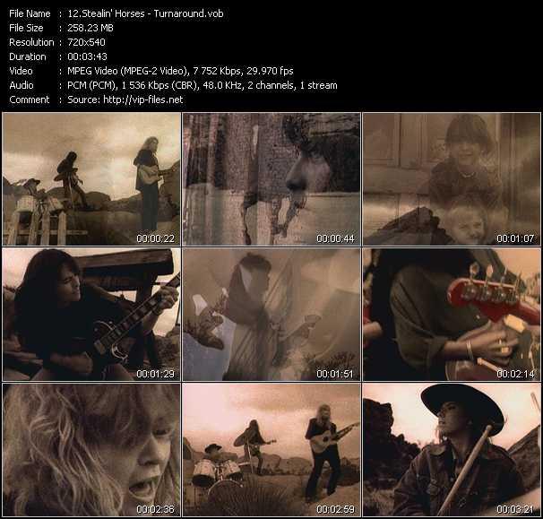 Stealin' Horses video screenshot