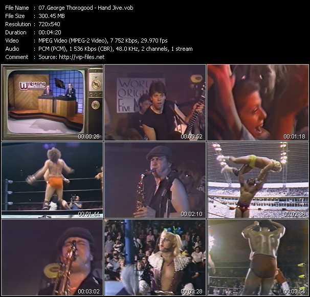 video Hand Jive screen