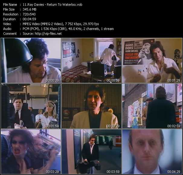 Ray Davies video screenshot