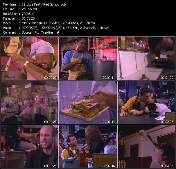 Little Feat video screenshot