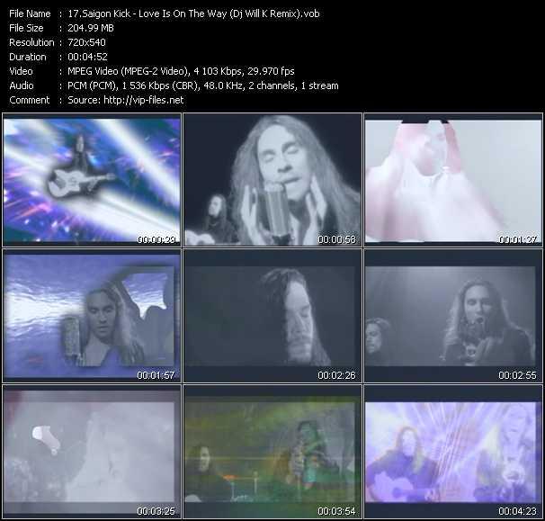 Saigon Kick video screenshot
