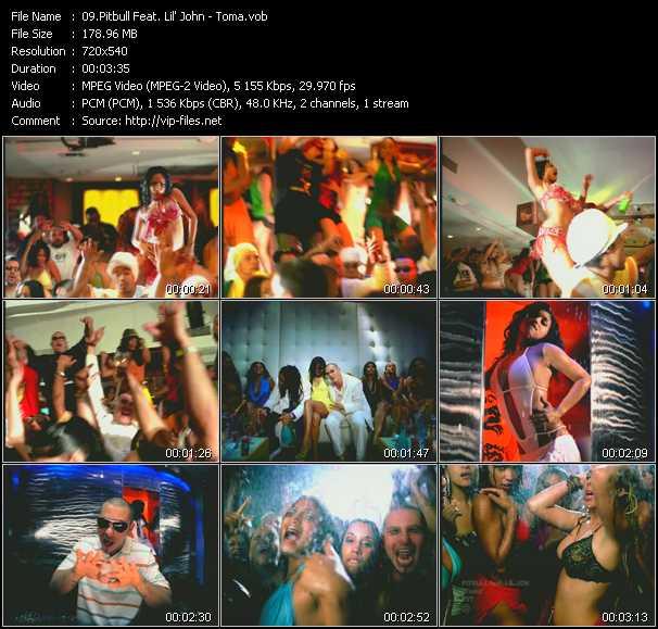 Pitbull Feat. Lil' Jon video screenshot