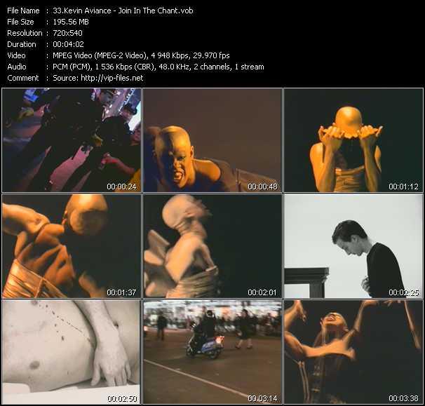 Kevin Aviance video screenshot