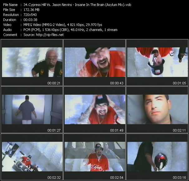 video Insane In The Brain (Asylum Mix) screen
