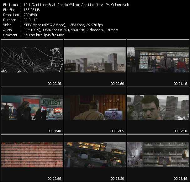 1 Giant Leap Feat. Robbie Williams And Maxi Jazz video screenshot
