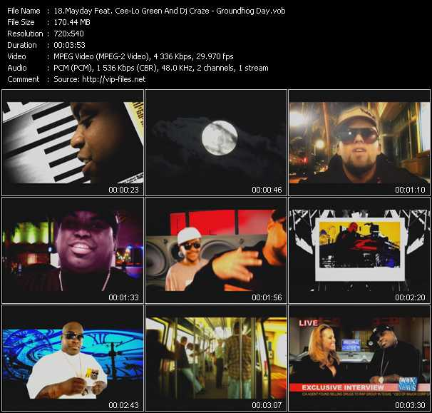 Mayday Feat. Cee Lo Green And Dj Craze video screenshot