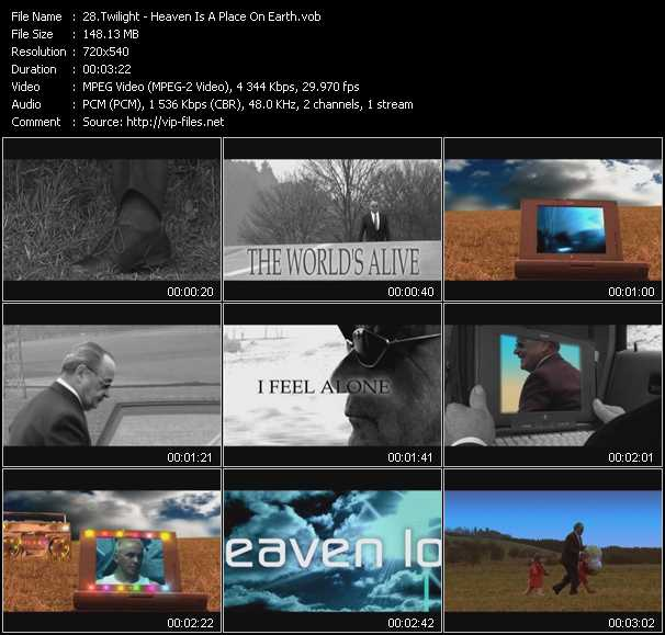 Twilight video screenshot