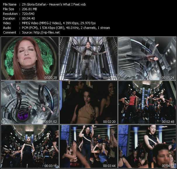 video Heaven's What I Feel screen